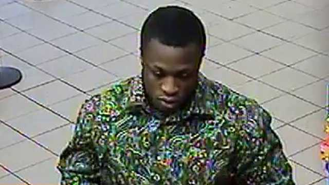 The FBI says this man robbed a Bank of America branch on Northwest 62nd Street in Fort Lauderdale. Investigators believe he may have robbed the same branch on Christmas Eve.