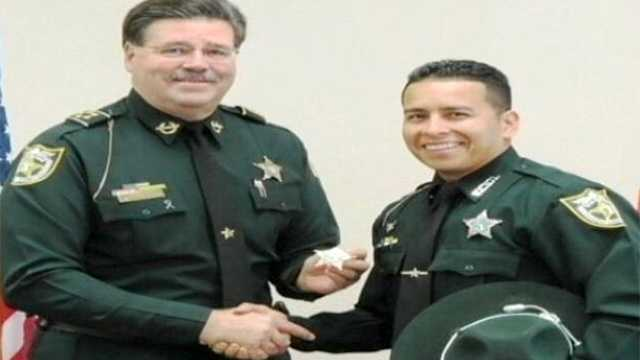 Here's a picture of Sheriff Ken Mascara and Sgt. Gary Morales.