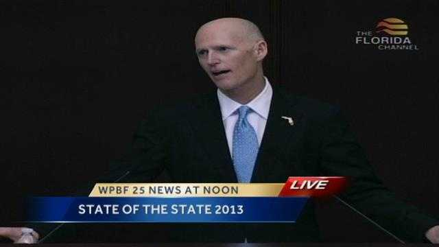 Gov Rick Scott sums up his last two years in office, saying Its working.