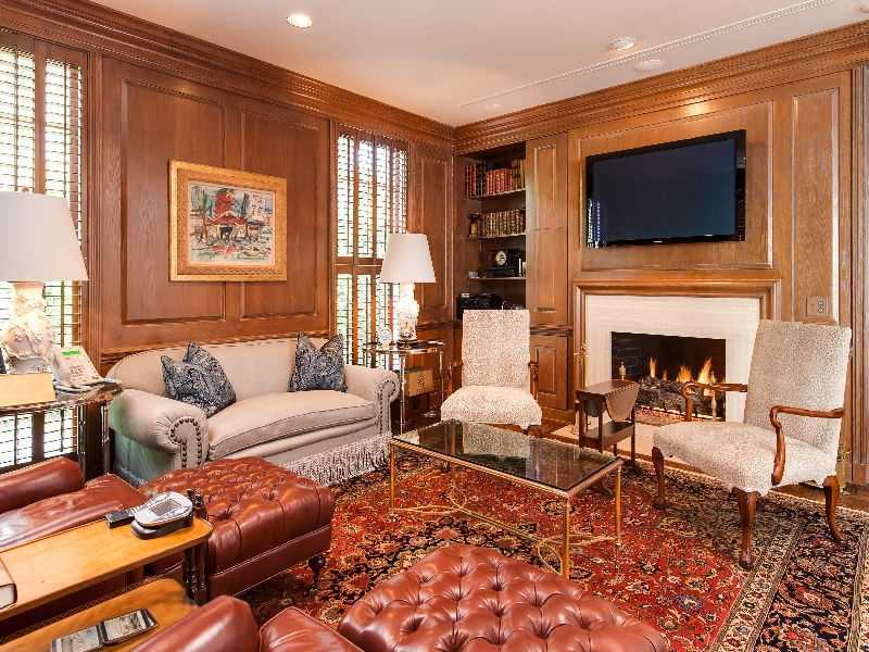 Formal sitting area, perfect for entertaining guests.