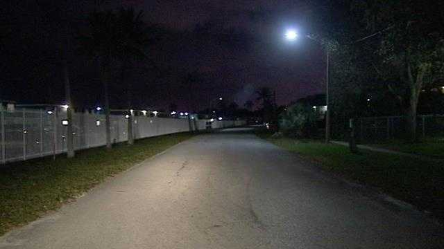 A man was shot Monday night along 36th Court in West Palm Beach.