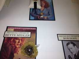 """Actress and musician Bette Midler, who won a Grammy Award for her 1989 rendition of """"Wind Beneath My Wings,"""" previously owned this broach."""