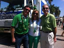 WPBF 25 was the proud sponsor of the Delray Beach St. Patrick's Day Parade on Saturday. Todd, Tiffany and Mike took a few pictures of the revelry.