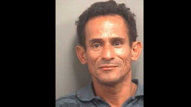 Marlon Padilla, pictured here after an arrest in 2012, was found dead in a dirt road near a canal in Lake Worth.