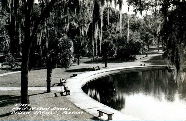 DeLeon Springs in 1946.