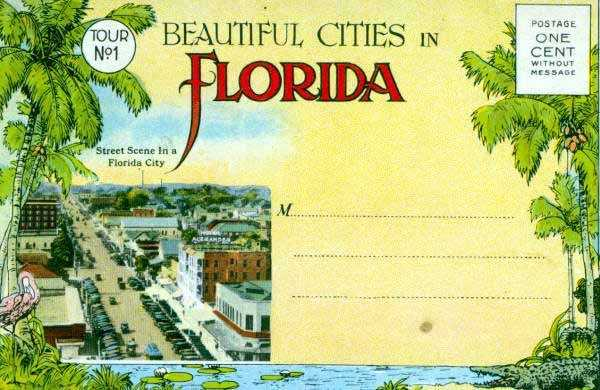 Can you believe postage was one cent for this postcard?