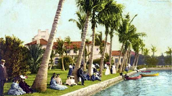 Palm Beach in 1906.