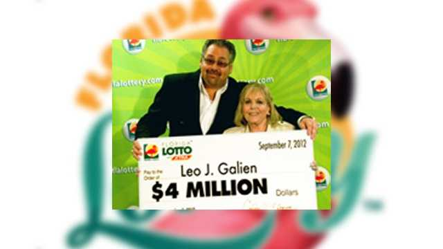 Leo Gailen, of Port Orange, won $4 million.