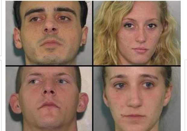 Drugs Found In Florida Suspects' Orifices