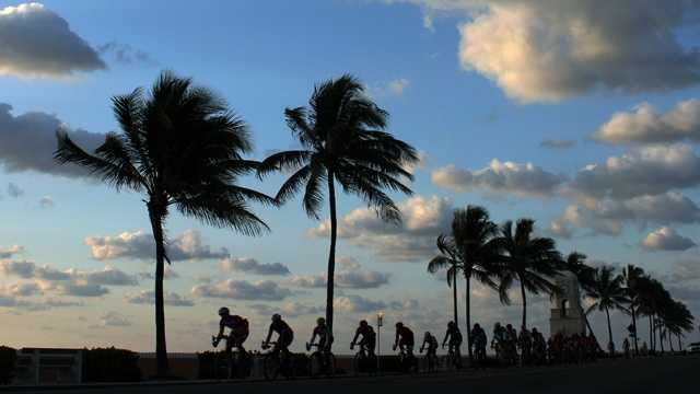 033013 Morning Bike Ride on Palm Beach