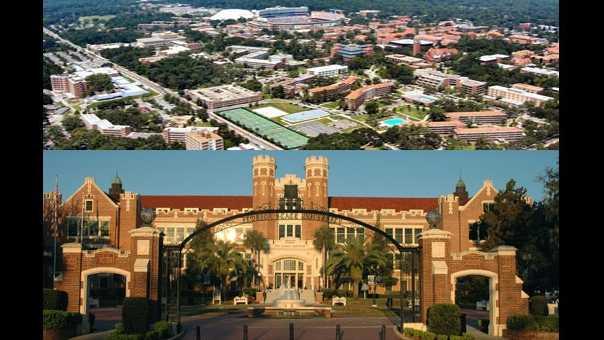 University of Florida and Florida State University