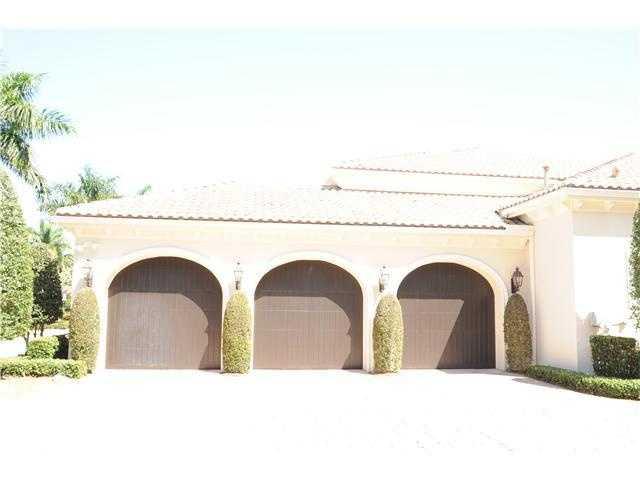 The home also has a three car garage.