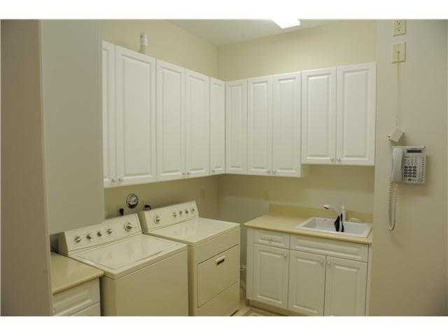 Spacious laundry room for all your family's needs.