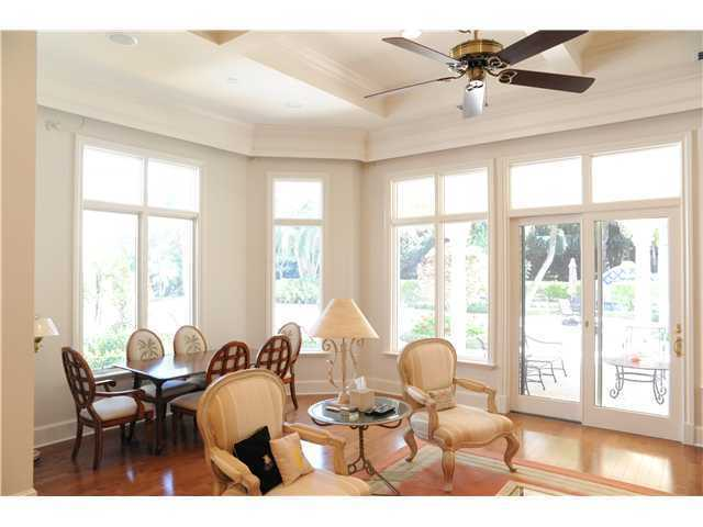 Formal area is set along a bay window which provides plenty of natural light into the space.