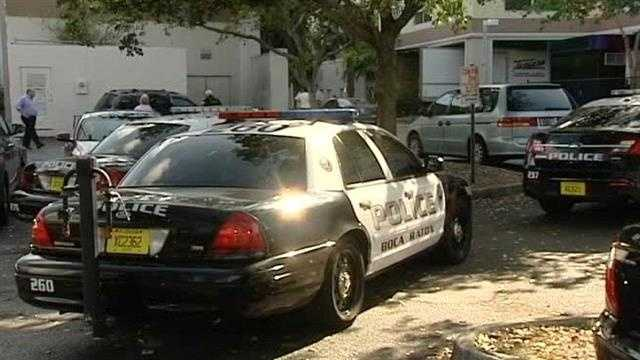 Office workers in Boca Raton became witnesses Wednesday after a man shot and killed a woman at her workplace, then killed himself.