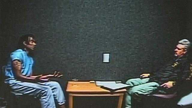 img-Video of Eriese Tisdale interrogation released