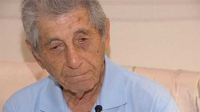 Holocaust survivor George Salton now lives in Palm Beach Gardens, but he says he feels compelled to share his story.