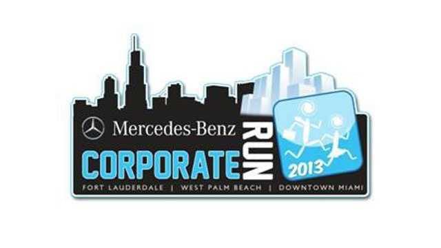 Mercedes-Benz Corporate Run logo