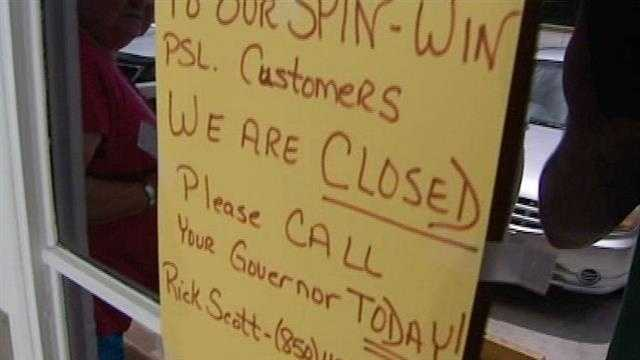 Arcade employees on the Treasure Coast are out of work after Gov Rick Scott