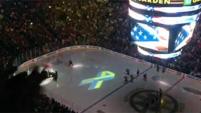 Bruins Anthem screengrab