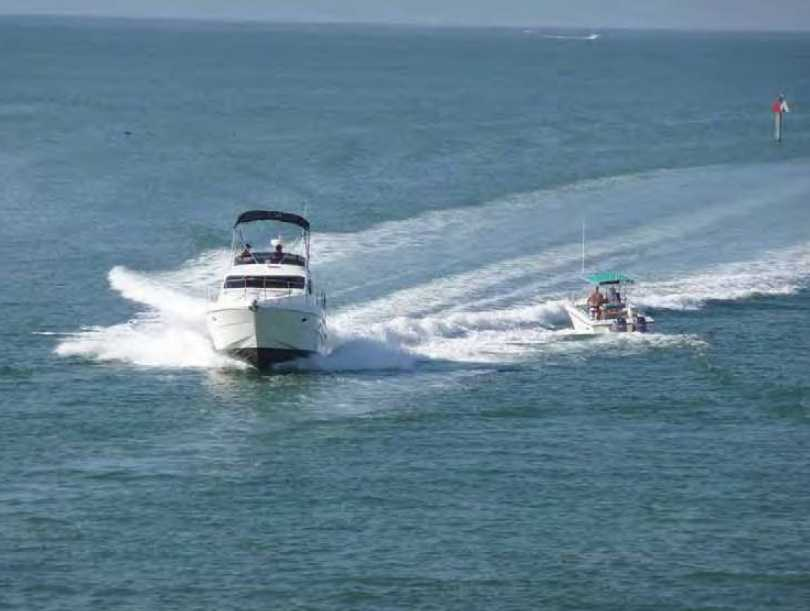 13. Escambia County - 14 accidents and three fatalities out of 16,137 registered vessels.