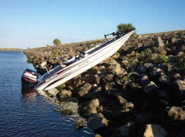 16. Indian River County - 12 accidents and zero fatalities out of 10,484 registered vessels.