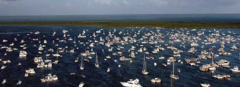 3. Pinellas County - 49 accidents and three fatalities out of 47,680 registered vessels.