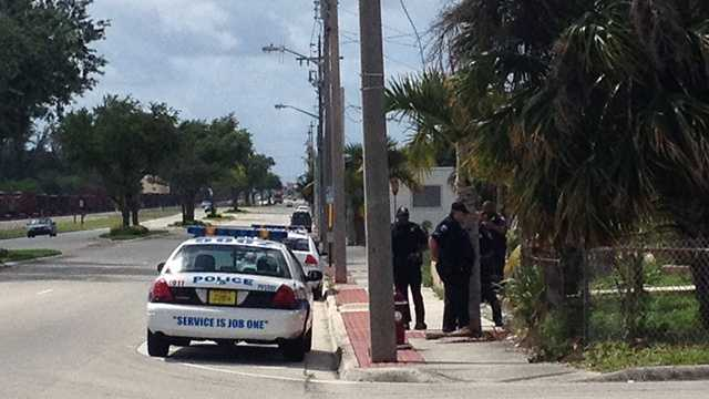 A lockdown was lifted just before noon at an elementary school in Palm  Beach Gardens after a parent made threats about a shooting.