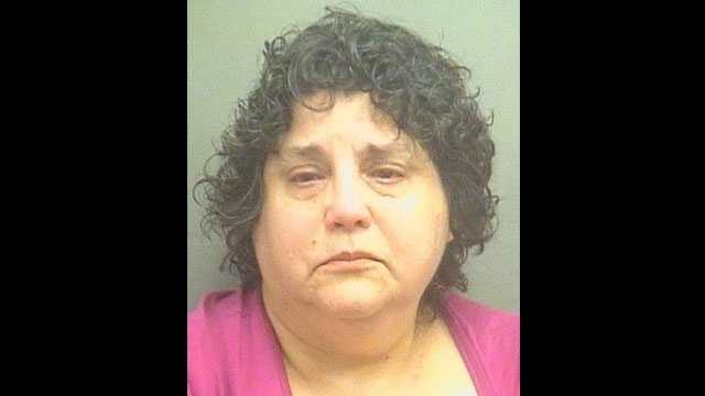 Sharon Weiner is accused of attacking her neighbor.