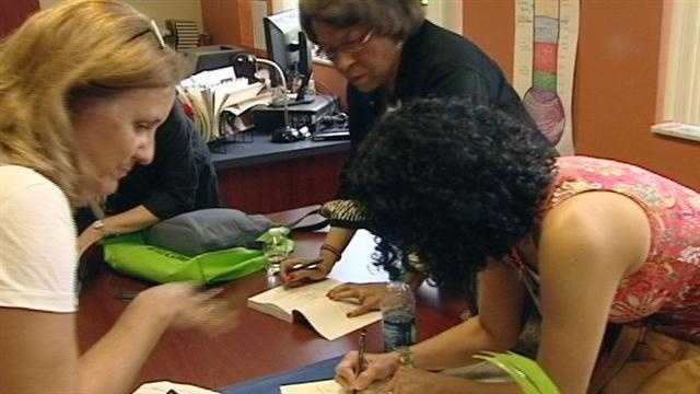 Twenty authors drew big crowds at Saturday's April is for Authors event in Palm Beach Gardens.