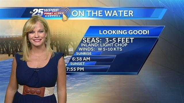 Sandra says a beautiful Monday is on tap around the Palm Beaches and Treasure Coast.