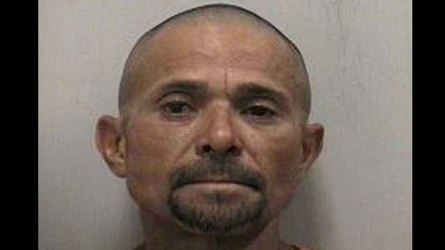 Wilbert Galleti-Quiros is accused of chasing a man with a machete in Stuart.