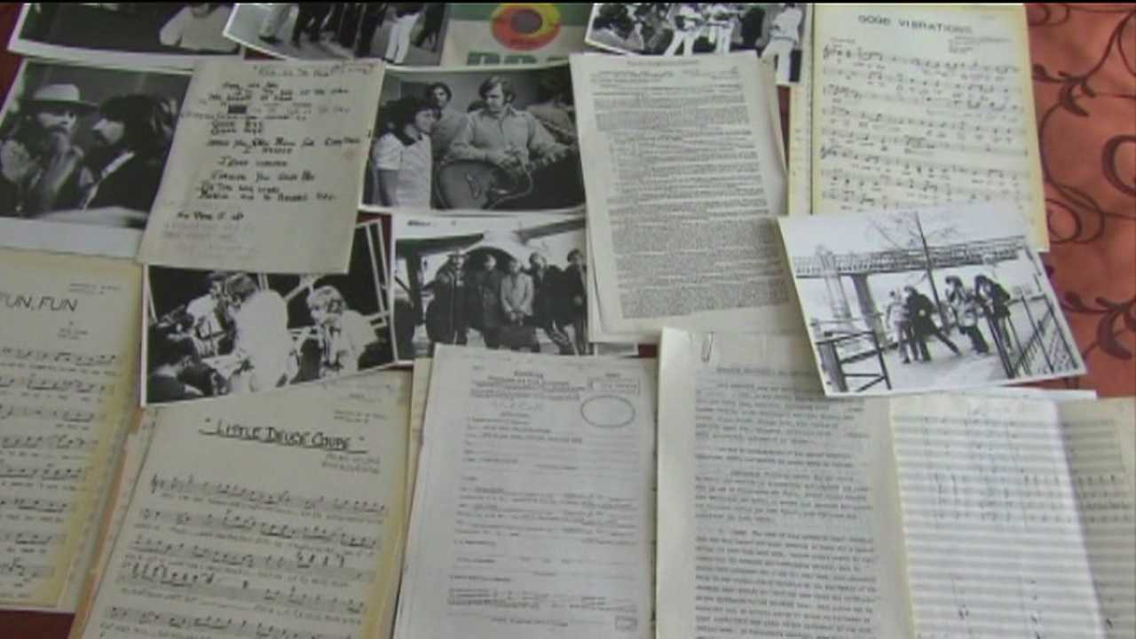 Some vintage Beach Boys memorabilia found inside a Florida storage locker is finally available to the public after a lengthy legal battle.