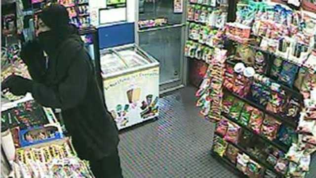 Deputies are trying to identify this man who robbed a Chevron gas station on Military Trail in West Palm Beach.
