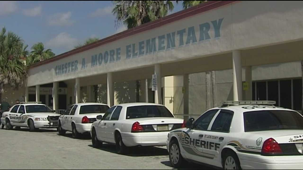 A fifth-grade student at Chester A. Moore Elementary School is arrested after deputies say he brought a rusted gun to school and showed it to another student.