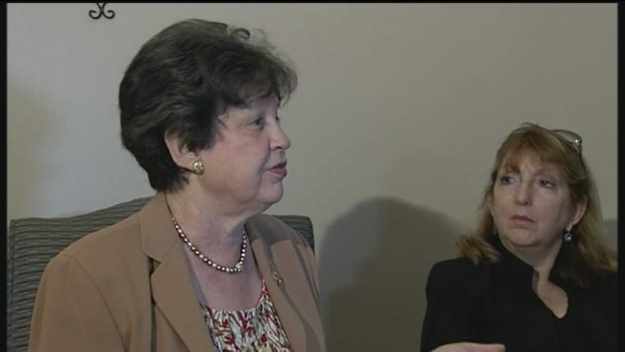 Lois Frankel tours a new facility in Delray Beach intended to put an end to human trafficking.