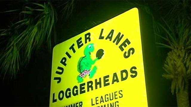 A man accidentally shot himself while bowling at Jupiter Lanes, police said Tuesday night.