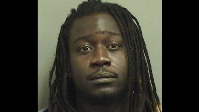 Jean Dorival is accused of robbing two convenience stores in Palm Beach County in November 2011.