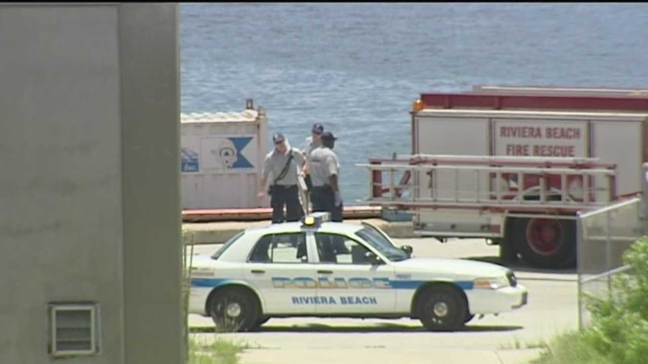 A maintenance supervisor at the Port of Palm Beach dies after he enters a manhole on a barge and never resurfaces.