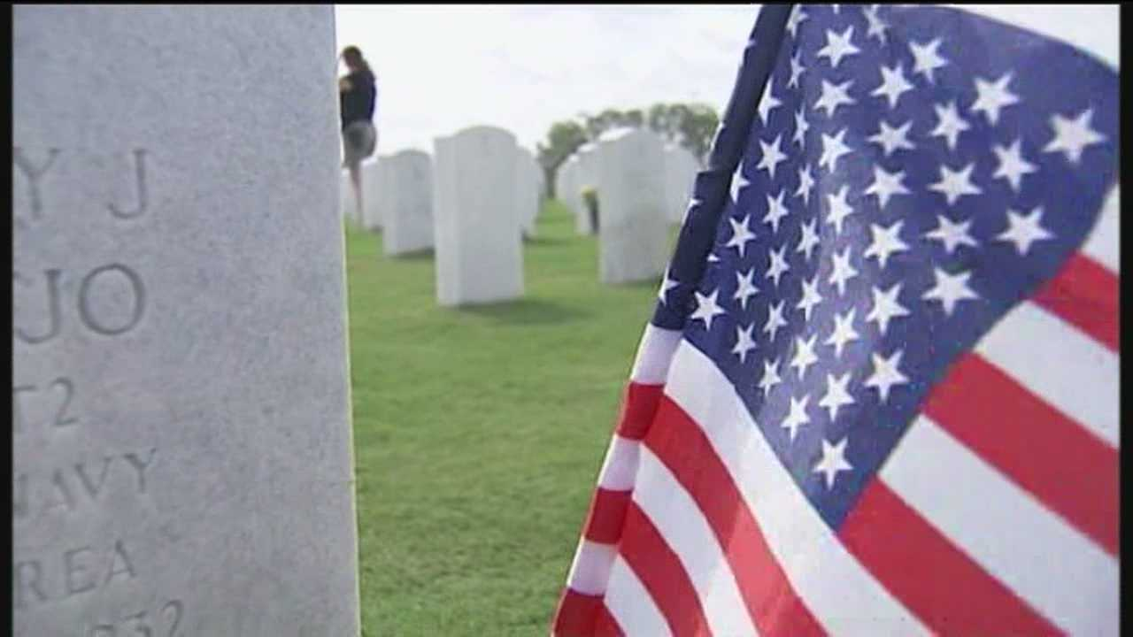 Those who made the ultimate sacrifice were honored in a Memorial Day service at the South Florida National Cemetery in Lake Worth.