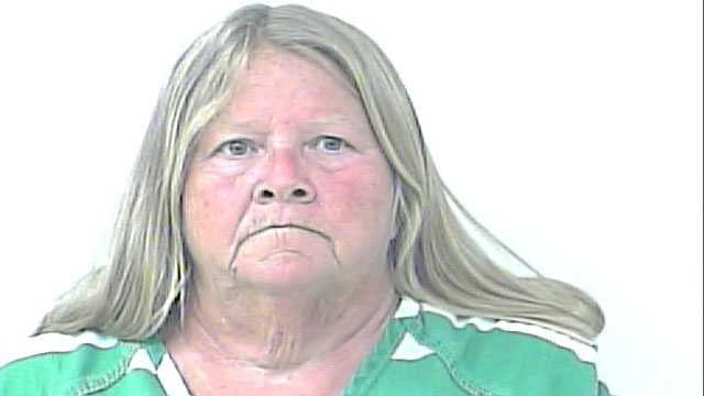 Police say Deborah Solomon admitting to growing enough marijuana at her house to last her a year.