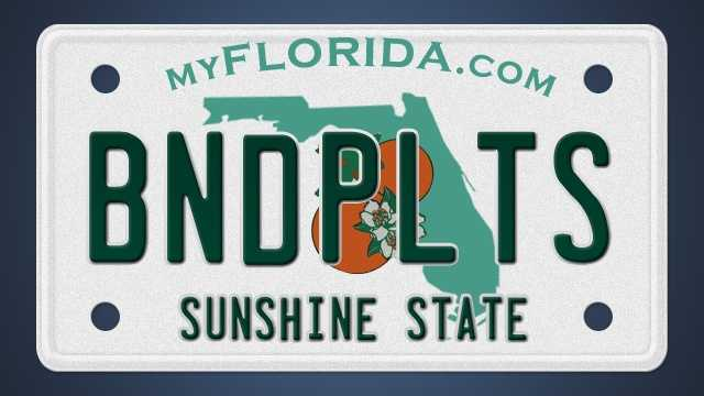Since 2002, the Florida Department of Highway Safety and Motor Vehicles has reviewed over 2,300 custom license plates. Here's a list of some of the plates that got rejected.