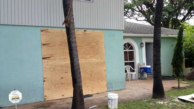 Here's evidence of the damage to a Boynton Beach home caused by an early-morning fire.
