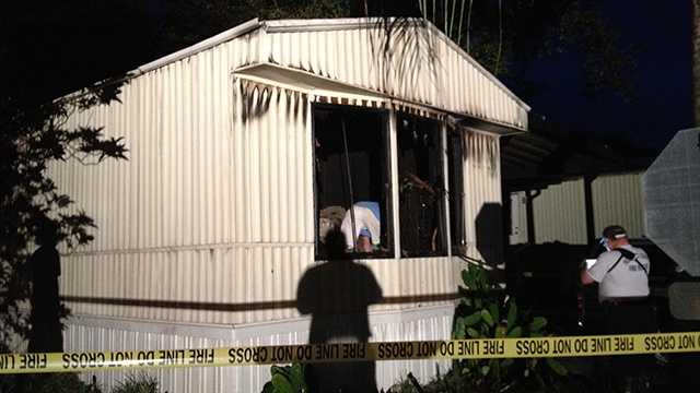 A discarded cigarette is to blame for an early-morning fire that destroyed a mobile home in Lake Worth, investigators said.