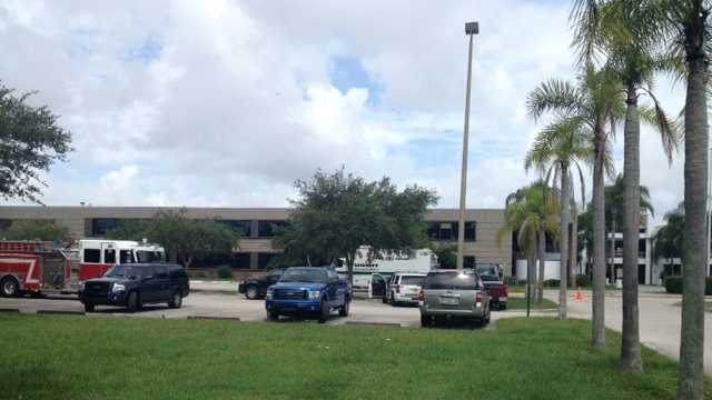 The bomb squad was called to Dwyer High School.