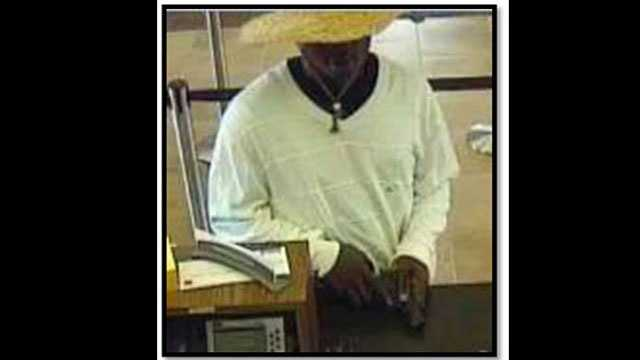 Police say this man robbed the Wells Fargo branch on U.S. Highway 1 in Fort Pierce.