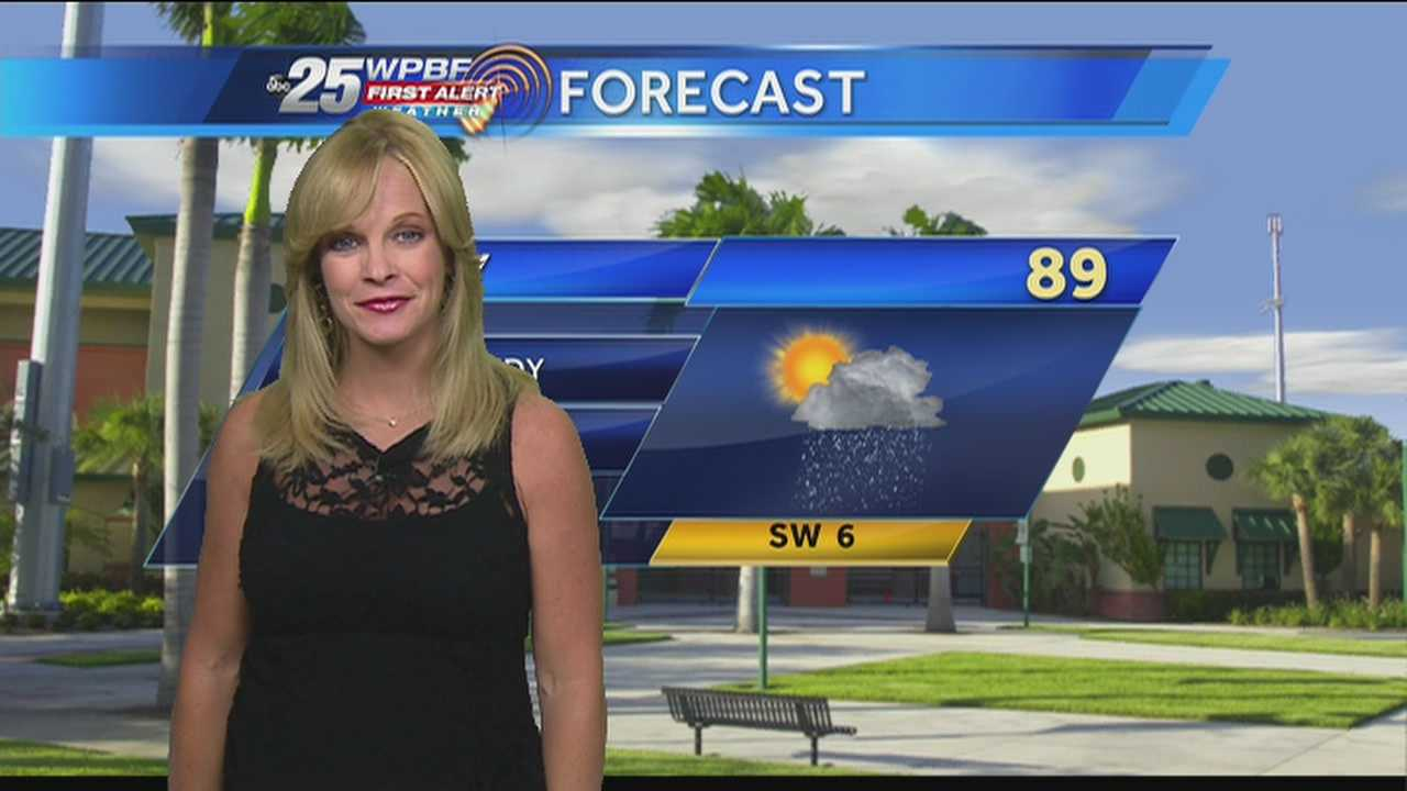 Sandra says Thursday will be pretty much a repeat of what we've seen all week -- hot and humid conditions with a chance for afternoon showers and storms.