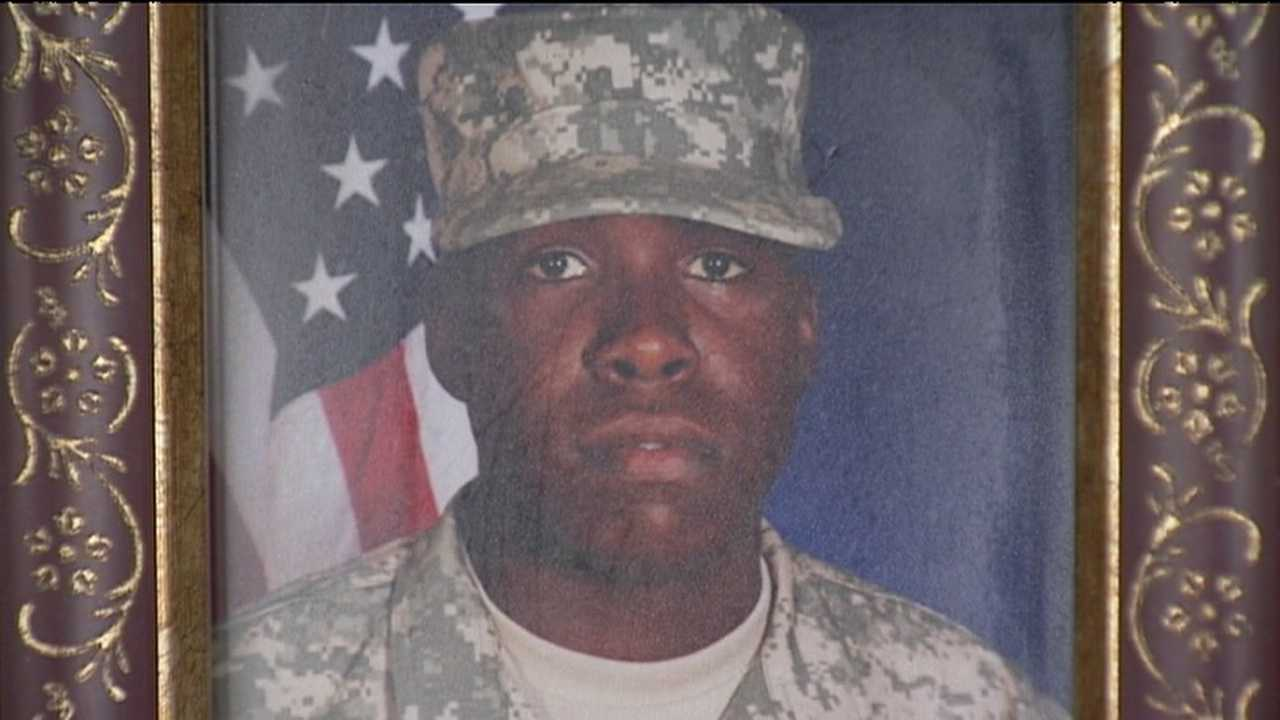Justin Johnson was killed in Afghanistan in June.
