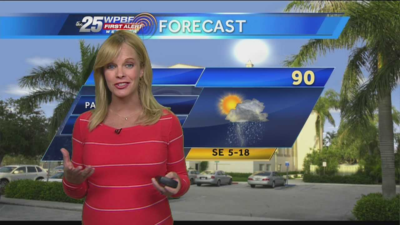 Sandra Shaw says to expect another hot day on the first official day of summer.