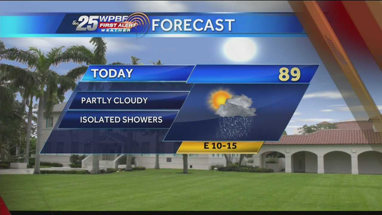 High heat and humidity and a chance of showers are on tap around town Tuesday.